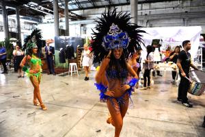 Blue Samba Girl