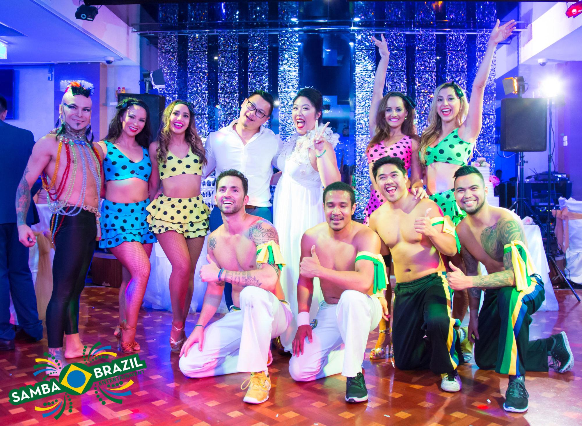 Wedding entertainment, Lambada, Samba, Brazilian dance